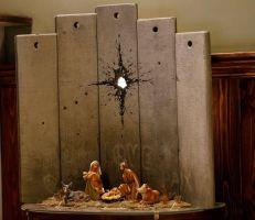 """الكشف عن معرض """"ندبة بيت لحم"""" لـ """"بانكسي"""" في فندق بالضفة الغربية"""