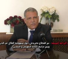 وزير الزراعة للمشهد: تم اقتطاع تصريحي حول مسؤولية الفلاحين عن الحرائق ويتم دراسة إعادة التعويض والتشجير (فيديو)