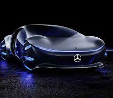 """ميرسيدس بينز """"أفاتار"""" : سيارة مستوحاة من المستقبل (صور)"""