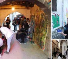 سامي مروان مبيّض يهاجم العبث بدمشق القديمة والرسم على جدرانها