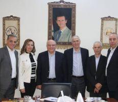 انتخاب المهندس طلال خضير رئيساً لاتحاد غرف السياحة السورية