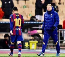 الاتحاد الإسباني يوقف ميسي مباراتين بسبب طرده في المباراة الأخيرة
