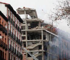 انفجار بالعاصمة الإسبانية مدريد (صور)