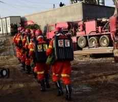 إخراج 11 عاملاً من منجم عمقه 580 متراً يعد حصار لمدة 14 يوم في الصين