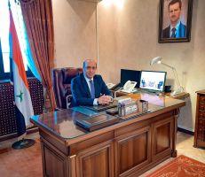 سفير سورية في بيلاروس لـ«المشهد» : نسعى لتعزيز التعاون الاقتصادي والفني والتجاري بين البلدين الصديقين .