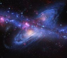 عمر الكون 13.77 مليار سنة ويتوسع بسرعة 42 ميلاً في الثانية .